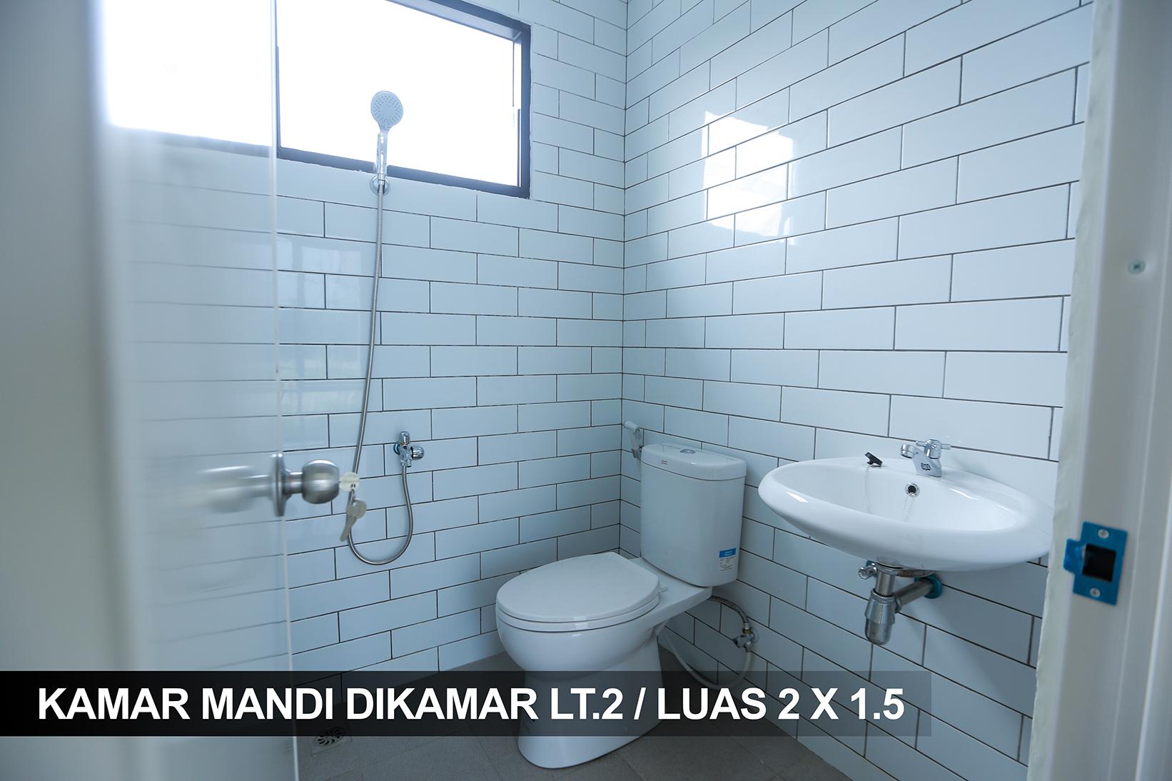 KAMAR MANDI DIKAMAR LT.2